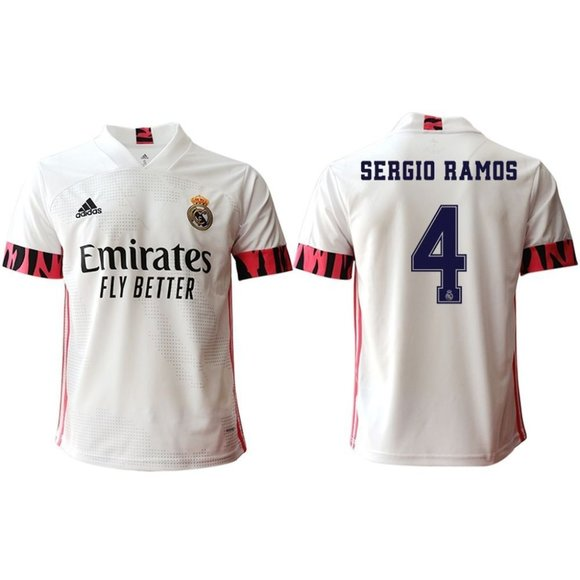 Other - Real Madrid Sergio Ramos White 20-21 Jersey